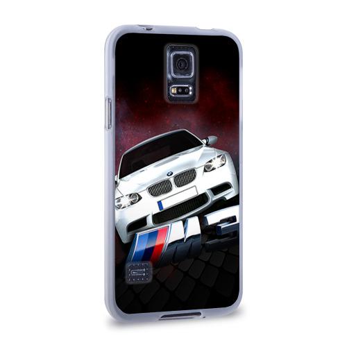 Чехол для Samsung Galaxy S5 силиконовый  Фото 02, BMW
