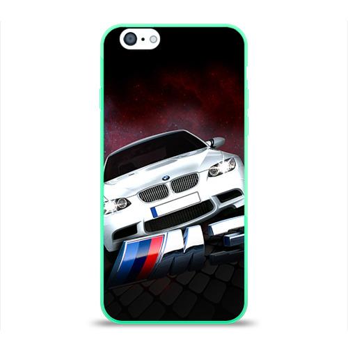 """Чехол силиконовый глянцевый для Apple iPhone 6 """"BMW"""" (2) - 1"""