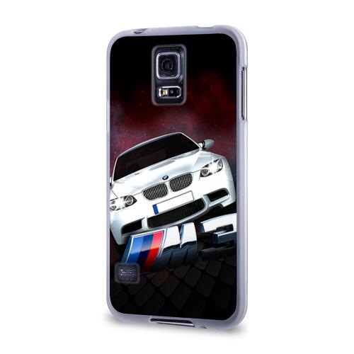 Чехол для Samsung Galaxy S5 силиконовый  Фото 03, BMW