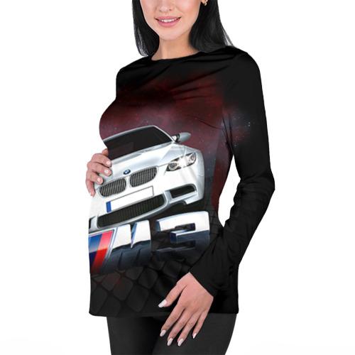 Женский лонгслив 3D для беременных  Фото 01, BMW