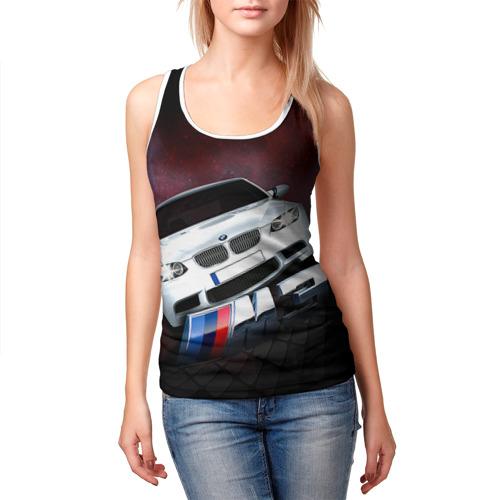 Женская майка 3D  Фото 03, BMW