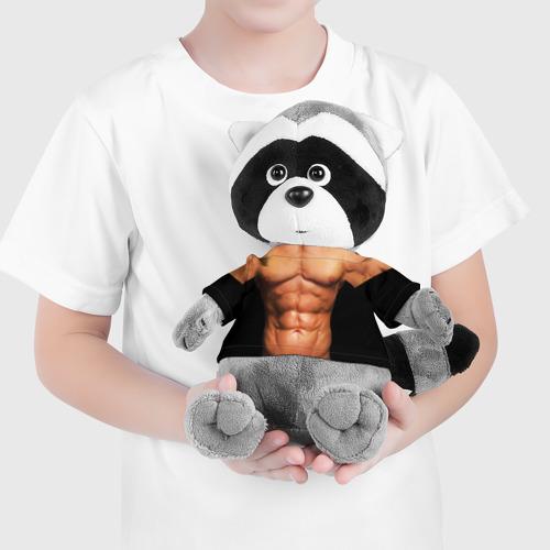 Енотик в футболке 3D  Фото 04, Идеальное тело