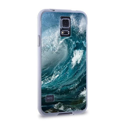 Чехол для Samsung Galaxy S5 силиконовый  Фото 02, Волна