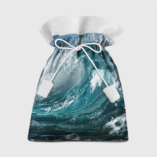 Подарочный 3D мешок Волна