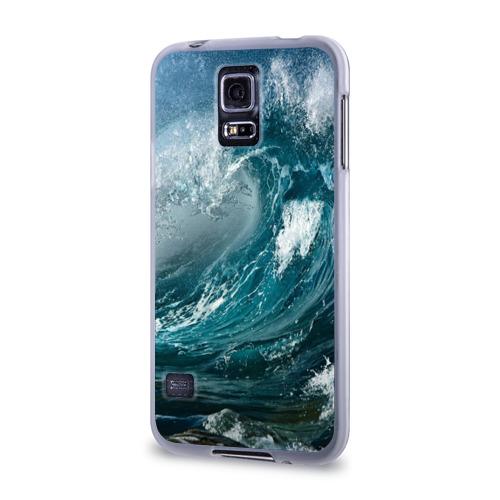 Чехол для Samsung Galaxy S5 силиконовый  Фото 03, Волна