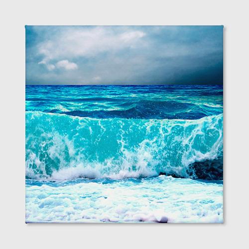 Холст квадратный  Фото 02, Волны