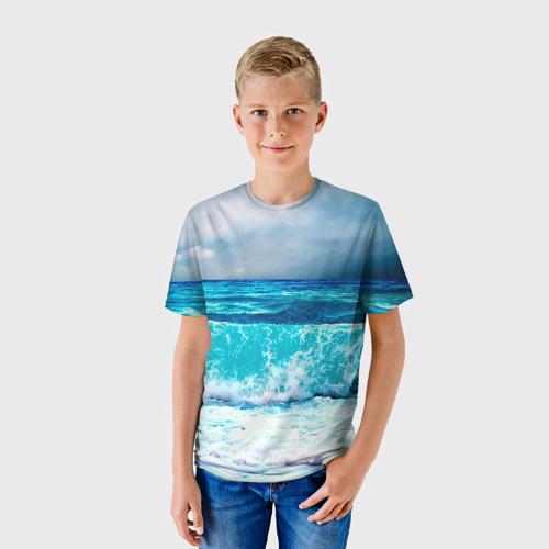Детская футболка 3D Волны
