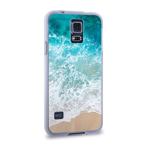 Чехол для Samsung Galaxy S5 силиконовый  Фото 02, Берег