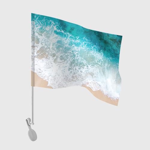 Флаг для автомобиля Берег Фото 01