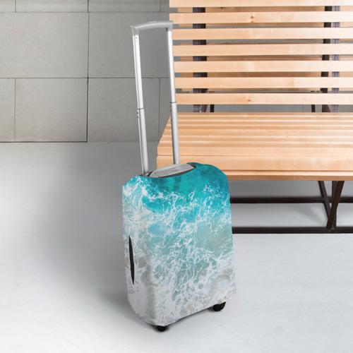 Чехол для чемодана 3D  Фото 03, Берег