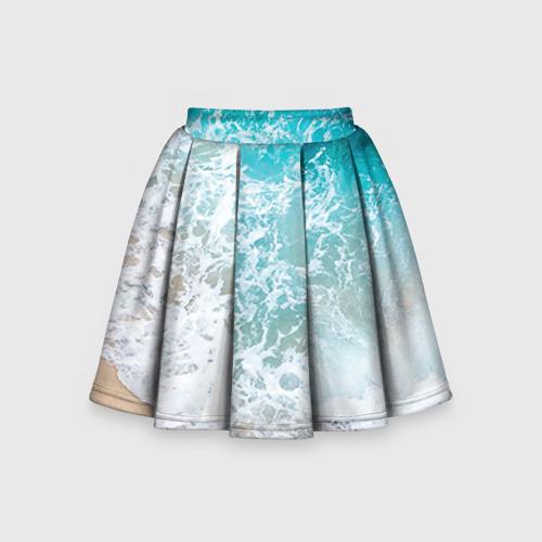 Детская юбка-солнце 3D Берег