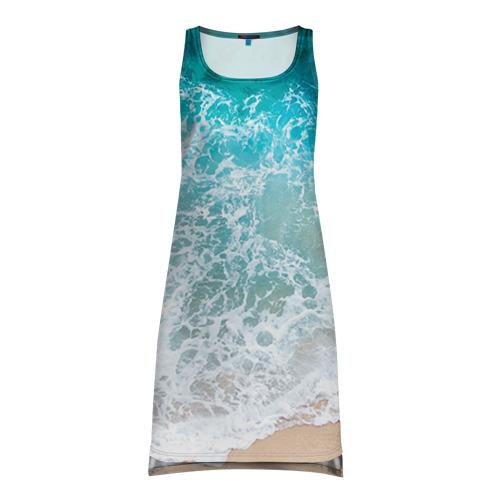 Платье-майка 3D Берег