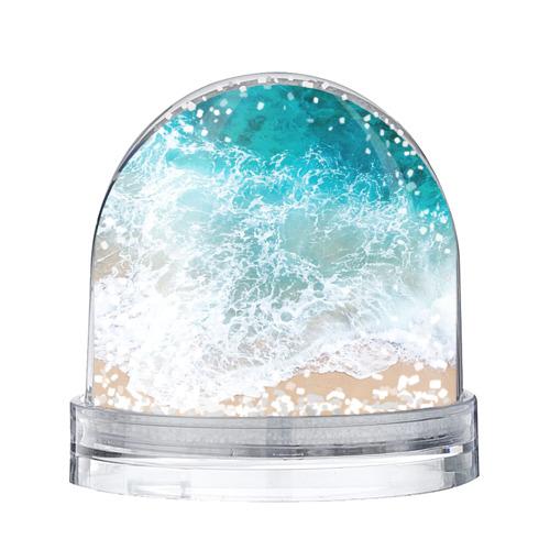 Водяной шар со снегом Берег