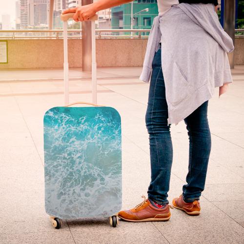 Чехол для чемодана 3D  Фото 04, Берег