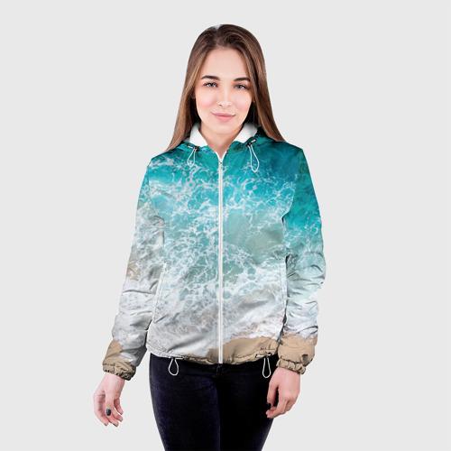 Женская куртка 3D Берег Фото 01