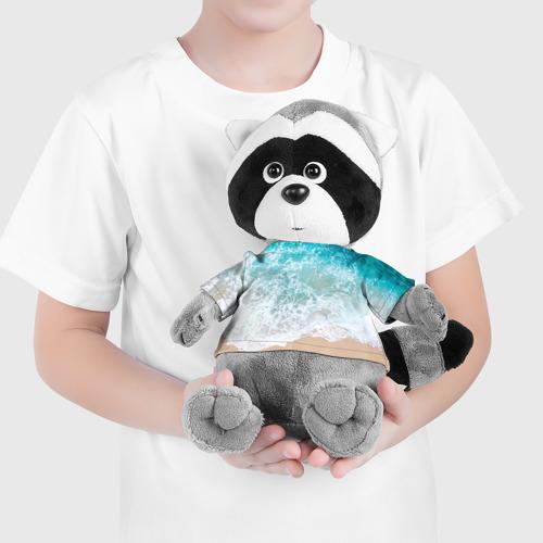 Енотик в футболке 3D Берег Фото 01