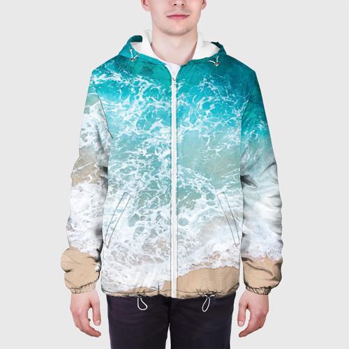 Мужская куртка 3D Берег Фото 01