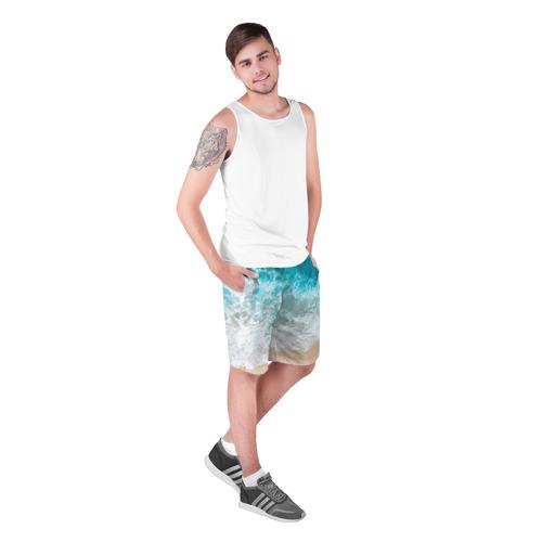 Мужские шорты 3D Берег Фото 01