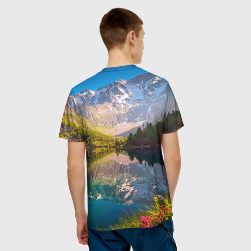 Мужская футболка 3D  Фото 02, Природа