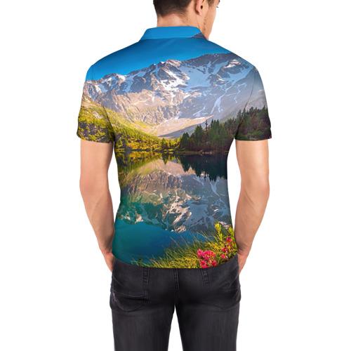 Мужская рубашка поло 3D  Фото 04, Природа