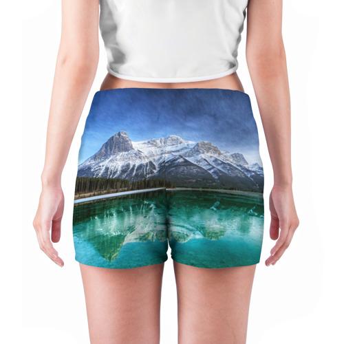 Женские шорты 3D  Фото 04, Отражение