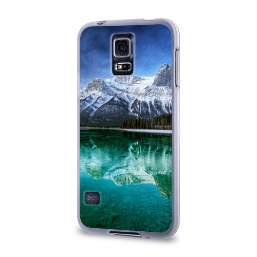 Чехол для Samsung Galaxy S5 силиконовый  Фото 03, Отражение