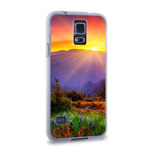 Чехол для Samsung Galaxy S5 силиконовый  Фото 02, Природа
