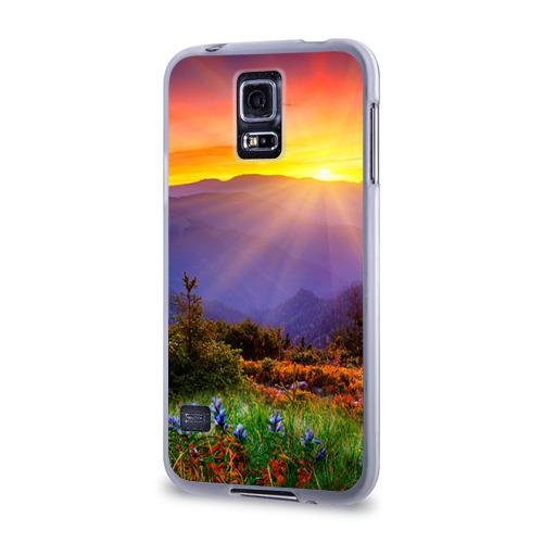 Чехол для Samsung Galaxy S5 силиконовый  Фото 03, Природа