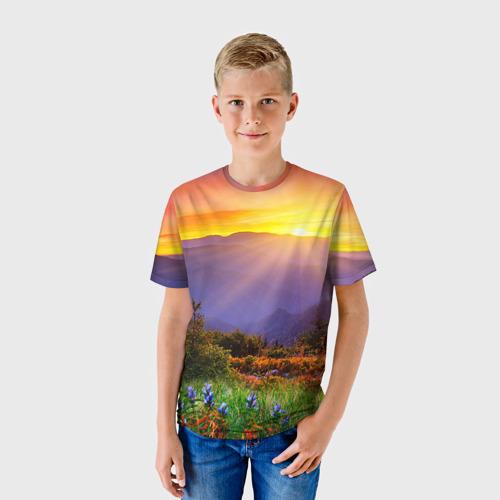 Детская футболка 3D  Фото 01, Природа