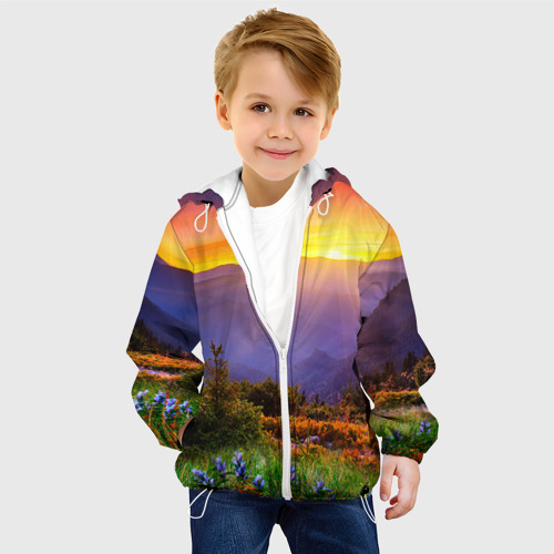 Детская куртка 3D  Фото 03, Природа