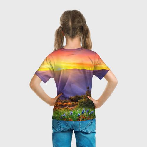 Детская футболка 3D  Фото 04, Природа