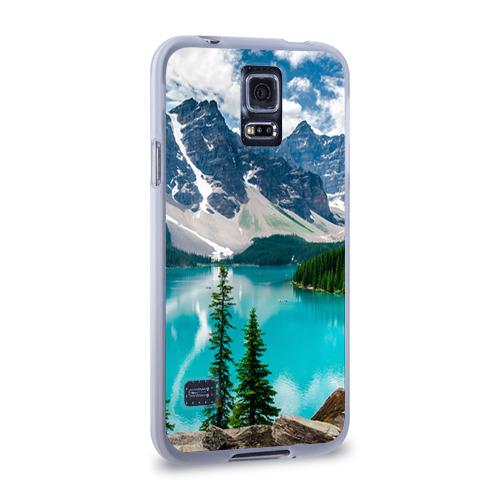 Чехол для Samsung Galaxy S5 силиконовый  Фото 02, Озеро