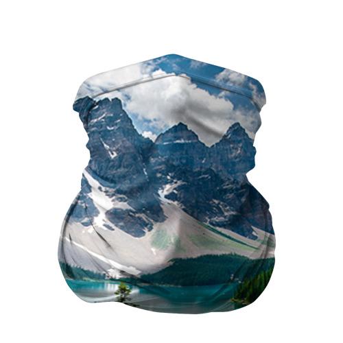Бандана-труба 3D Озеро Фото 01