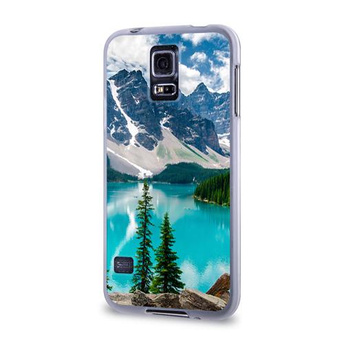 Чехол для Samsung Galaxy S5 силиконовый  Фото 03, Озеро