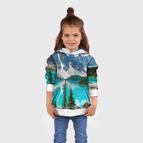 Детская толстовка 3D Озеро