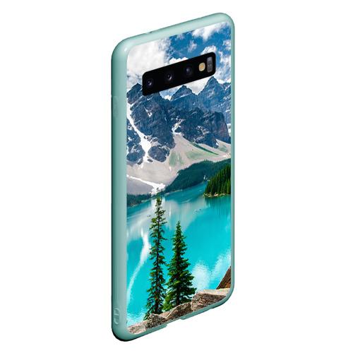 Чехол для Samsung Galaxy S10 Озеро Фото 01