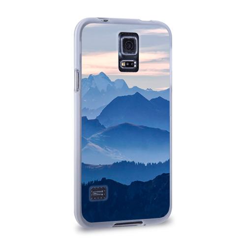Чехол для Samsung Galaxy S5 силиконовый  Фото 02, Горы