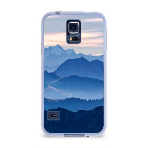 Чехол для Samsung Galaxy S5 силиконовый  Фото 01, Горы