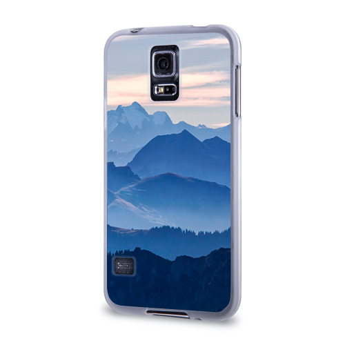 Чехол для Samsung Galaxy S5 силиконовый  Фото 03, Горы