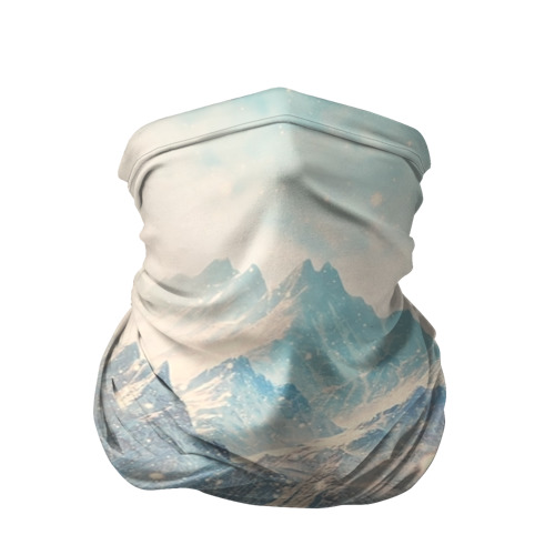 Бандана-труба 3D Горы