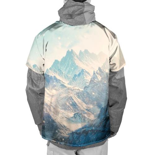 Накидка на куртку 3D  Фото 02, Горы