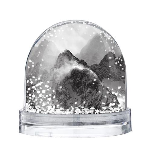 Водяной шар со снегом Горы