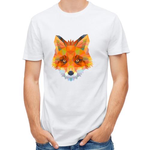 Мужская футболка синтетическая Лиса от Всемайки