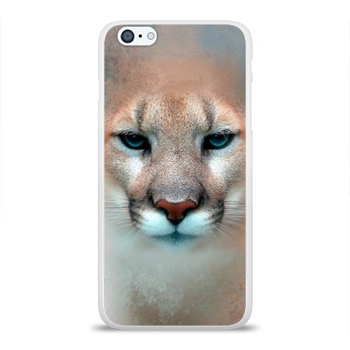 Чехол для Apple iPhone 6Plus/6SPlus силиконовый глянцевый Пума
