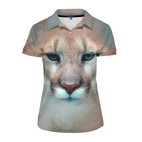 Женская рубашка поло 3D Пума