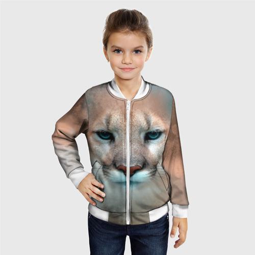 Детский бомбер 3D  Фото 06, Пума