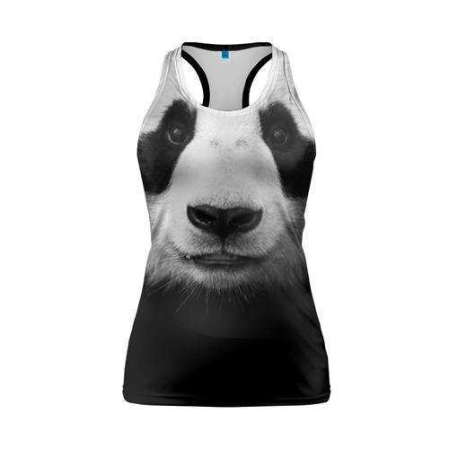 Женская майка 3D спортивная Панда