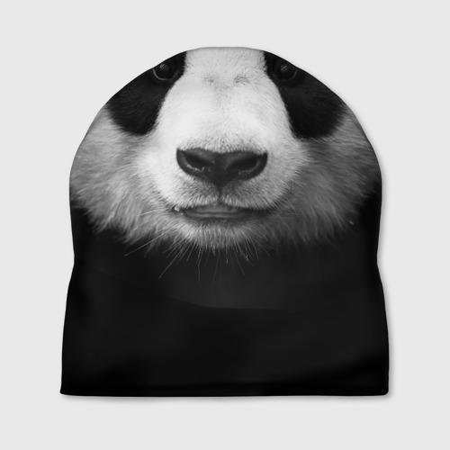 Шапка 3D Панда