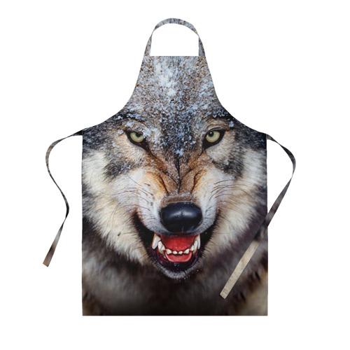 Фартук 3D Волк