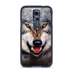 Чехол для Samsung Galaxy S5 силиконовыйВолк